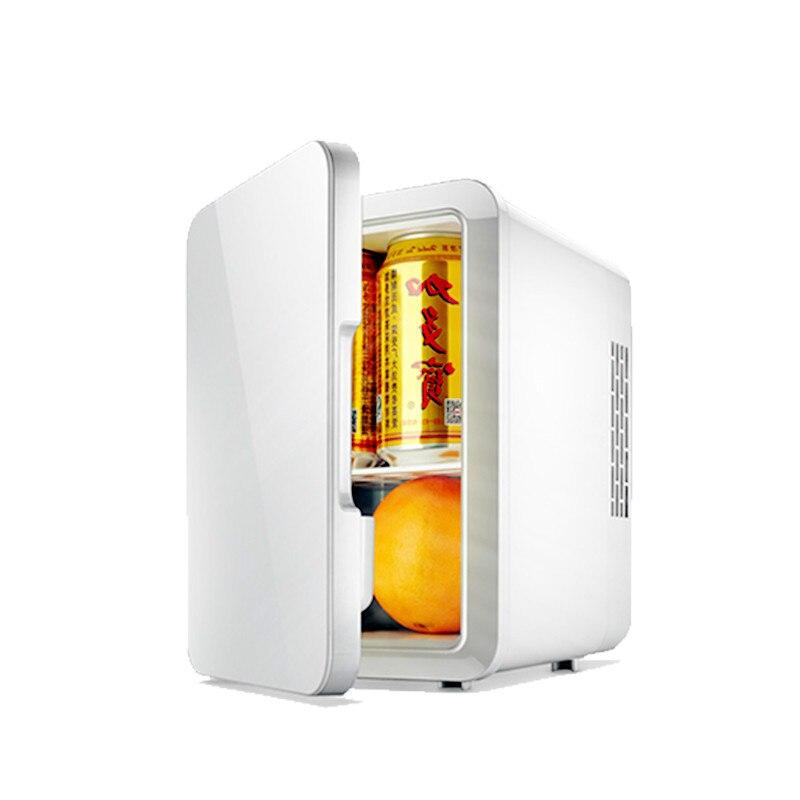 Portable 4L Mini Car Fridge Refrigerator 12V / 220V Dual Car Home cold warm Freezer Mini Frigo Nevera Icebox  Buzdolab Frigobar|Refrigerators| |  - title=