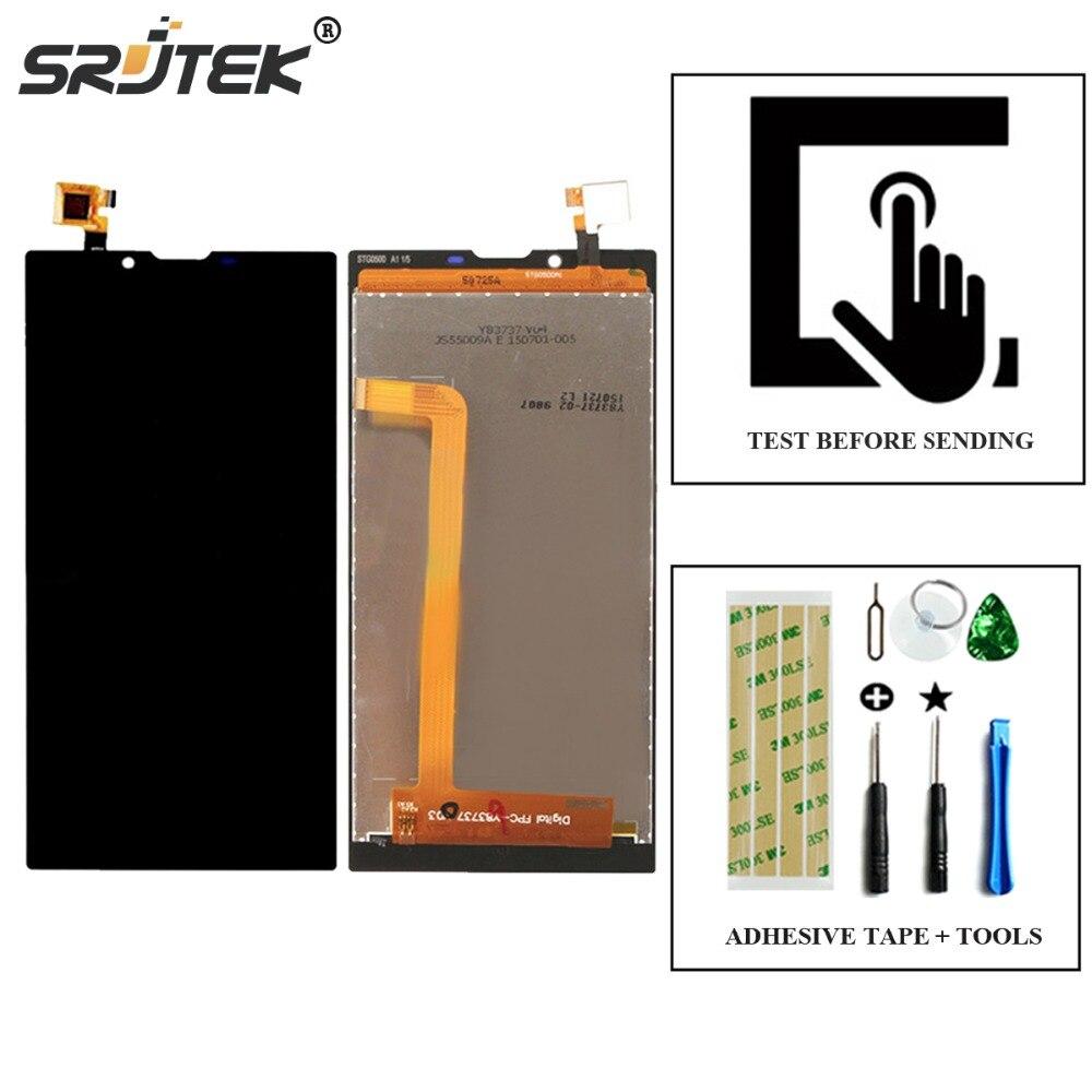 imágenes para Srjtek Para Archos 55 Platinum Pantalla LCD Display + Touch Screen Digitalizador Asamblea piezas de Repuesto