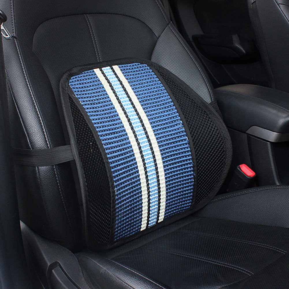 New Lumbar Support with Double-Layer Mesh Back Support Cushion for Car Office Home Seat Office Chair Lumbar Back Support