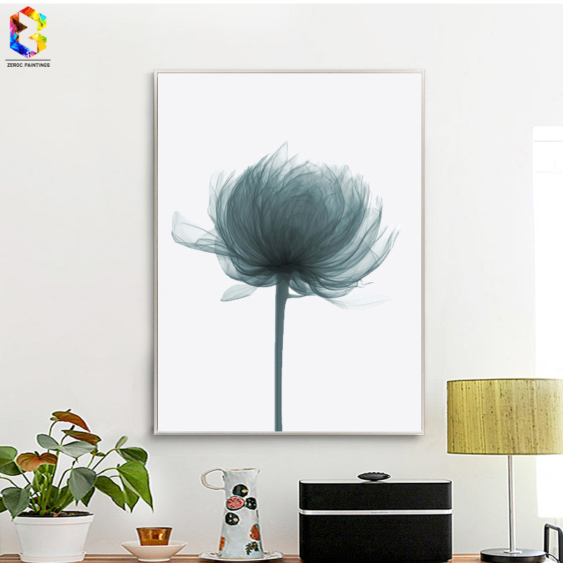 Oliver Gal Flower Painting Canvas Art Print Poster Wall
