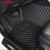 ZHAOYANHUA 5D Custom fit car floor mats for Honda Accord Civic City HRV Vezel Crosstour Fit heavey duty carpet floor liner