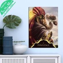 Лучший!  1 Шт. Невинность Ганеша Слово Бога HD Печатных Холст Wall Art Плакаты и Принты Плакат Живопись