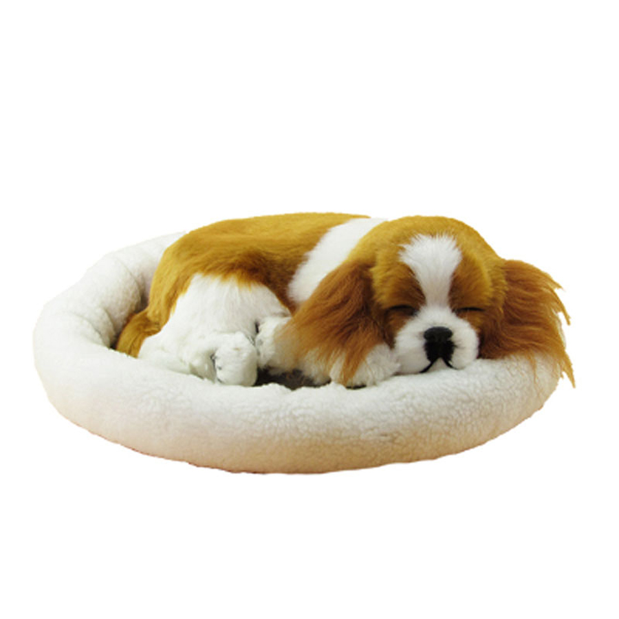 Plush Toy Animal Simulation Sleeping Dog Doll Kids Toys Mini Ursos De Pelucia Plush Dogs Baby Knuffel Gift For Baby Girl 80G0364 new electronic wristband patrol dogs kids paw toys patrulla canina toys puppy patrol dogs projection plastic wrist watch toys