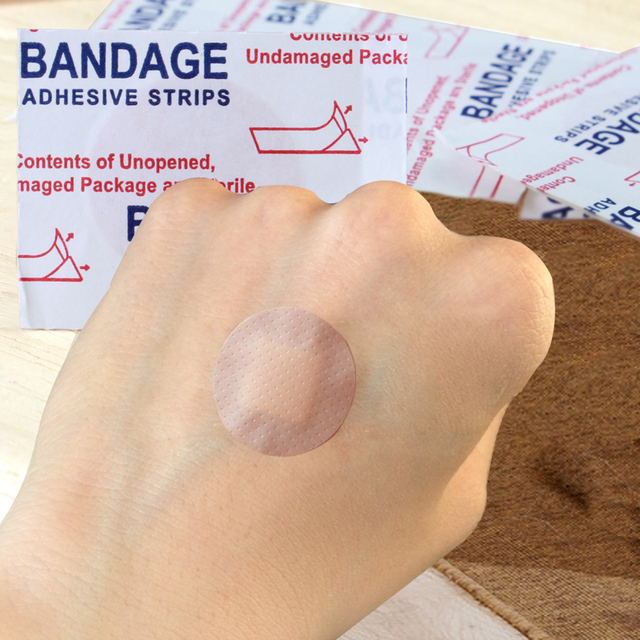 100pcs lot waterproof band aid foot wound paste beauty stickers spot
