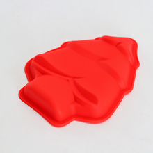 Christmas Tree Silicone Soap Mold Multifunction Chocolate Molds Candy Cake Baking Mould DIY Handmade Craft недорого