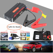 New Arrival 12000mAh 12V Car Jump Starter Portable Starting Device Charger For Car Battery 4USB Power Bank SOS Lights Free Ship