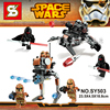 STAR WARS The Force Awakens First Order Shadow Guard Geonosis Airborne Imperial Troopers Minifig Building Blocks
