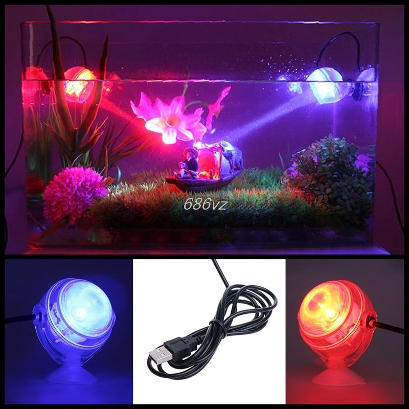 Крытый подводный светодиодный светильник Водонепроницаемый свет аквариума для коралловых рифов аквариума погружные аквариум свет пятна