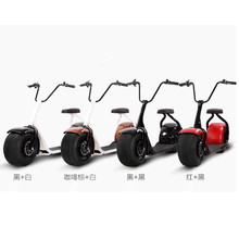 Moped hoverboard easy balance harley font b scooter b font 1000W 60V lithium battery