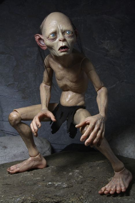 NECA 1/4 Action Figure Lord of the Rings 1: 4 Gollum Smeagol Movable dolls Hobbit Toys & Dolls Hobbies collectionable 1 6 scale full set soldier the lord of the rings elven prince legolas action figure toys model for collections