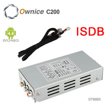 Special ISDB T Digital TV Box Only for Ownice C200 C180 Car DVD Players