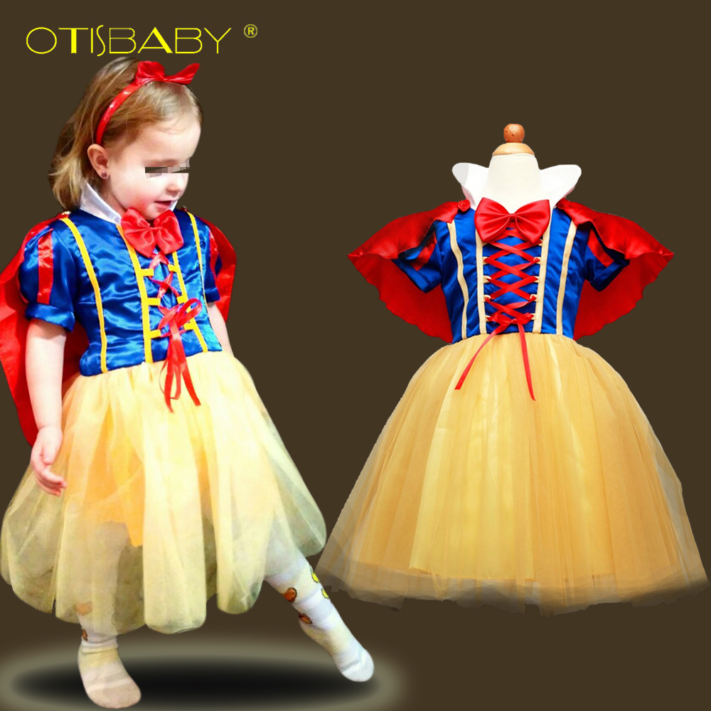 ac43b9ff3ee US $7.68 20% OFF|Fantasy Snow White Princess Dress for Girls Christmas  Party Dresses Children Clothing Infant Girl Cosplay Costume Kids Clothes-in  ...