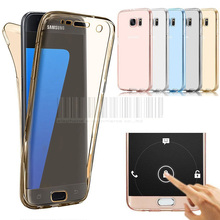 Full Body TPU GEL Front+Back Case Cover For Samsung Galaxy A3 J1 J3 2016/J7/S7/S7 Edge/Express 3/Amp 2 Prime