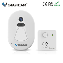 Vstarcam wireless wifi doorbell  door bell with inside chime support taking photo of visitor sending to mobile phone