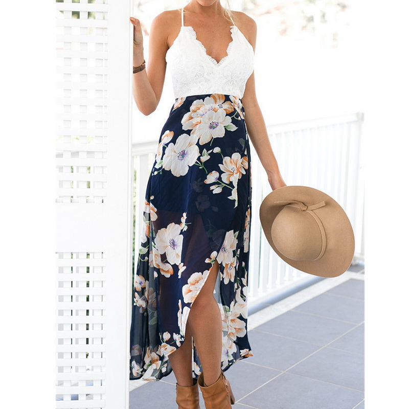 CALOFE Strapless Boho Print Dress Women Summer Sexy Off Shoulder Long Maxi Beach Dresses Sundress Plus Size Vestidos 5XL 3XL 2
