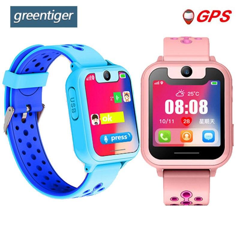 Greentiger S10 Smart Kids Watch GPS Tracker SOS Call back SIM Location Device Ca