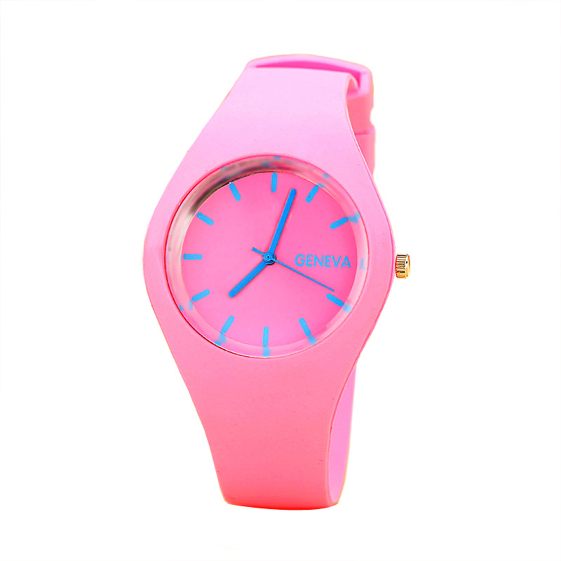 2018 luxury brand women's watches Sports Candy-colored Jelly quartz-watch Silicone Strap ladies watches Relogio masculino clock kevin black white blue candy color women watches minimalist silicone strap round dial quartz ladies watch fashion sport clock