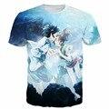 Novo Anime camisetas mulheres moda t-shirt espada de arte em linha camisetas moderno 3D t camisa são t-shirt tops