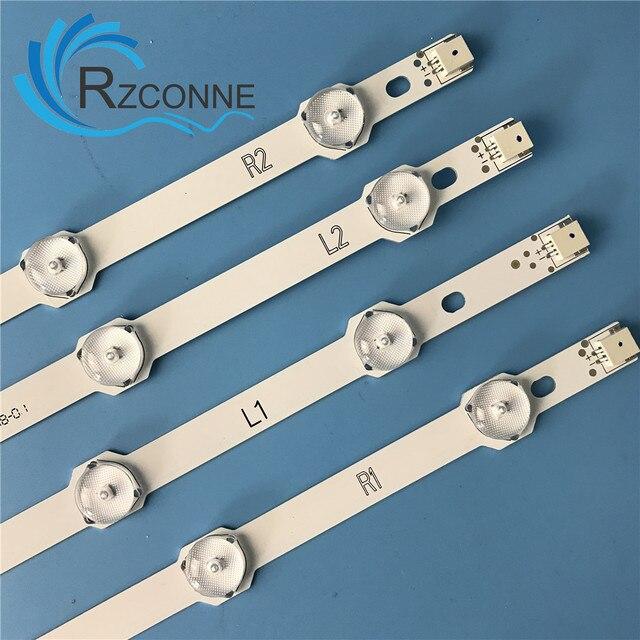 Bande de rétroéclairage LED pour LG 42LN6150 LC420DUN SF JF U1 U3 R1 42 pouces DRT 6637L 0025A 6916L 1509A 6916L 1510A 6916L 1506A