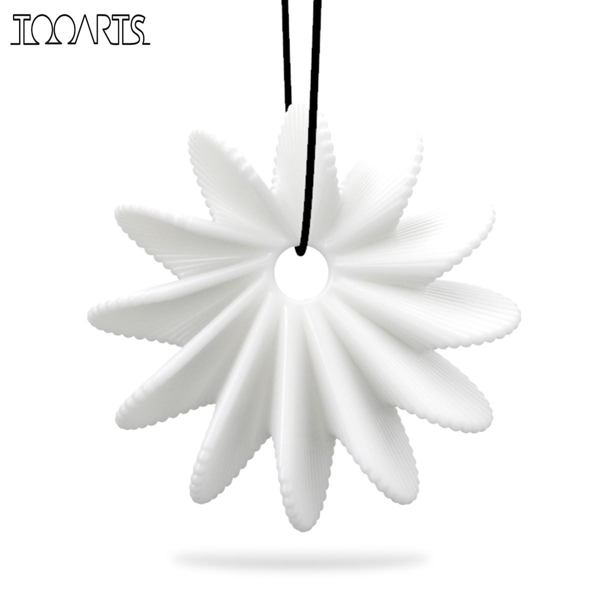 Tooarts Tomfeel 3D-prinditud ehted, õitsevad lilled, elegantsed - Kodu kaunistus
