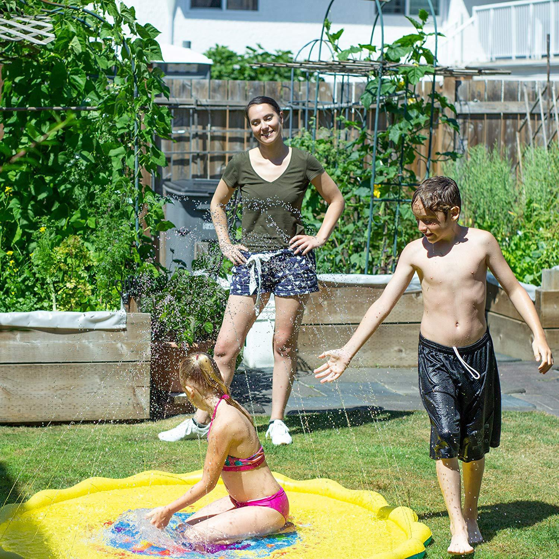 HTB1fT02XND1gK0jSZFyq6AiOVXaV 170cm Children Play Water Mat Games Beach Pad Kids Outdoor Water spray Beach Mat Lawn Inflatable Sprinkler Cushion Toys Cushion