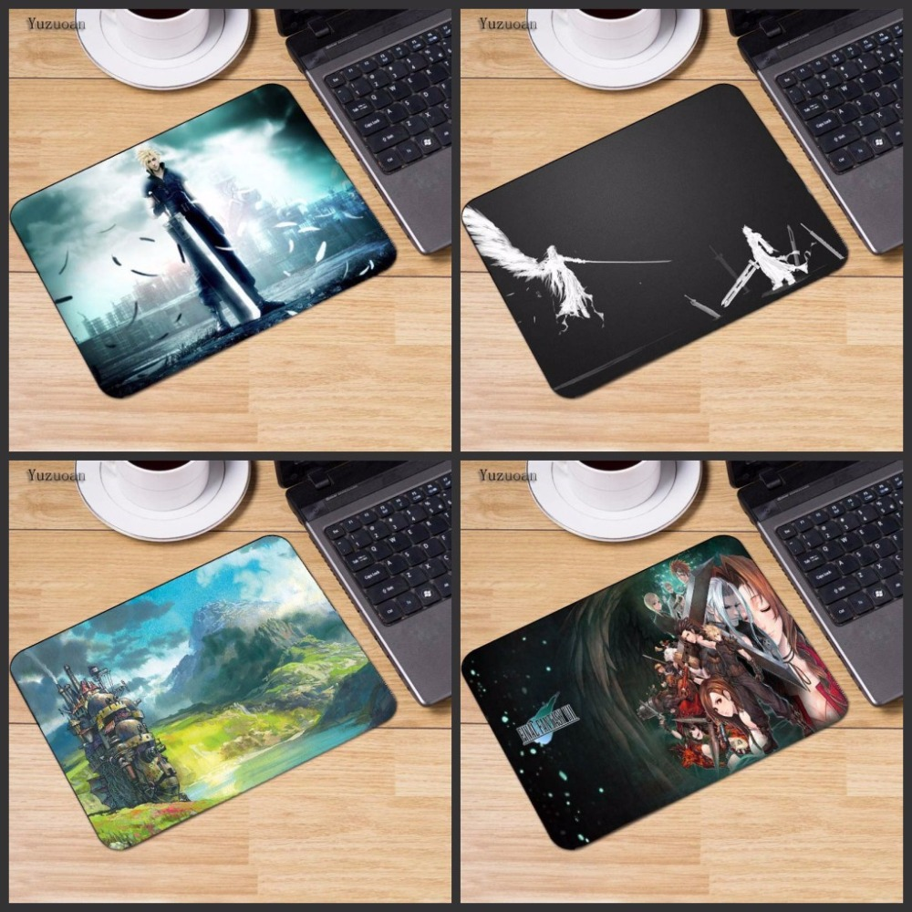Yuzuoa Big Promotion Personalized Fashion <font><b>Final</b></font> Fantasy Comfort <font><b>Mouse</b></font> Mat Gaming Mousepad Size for 180x220x2mm and 250x290x2mm image