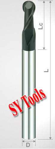 Free shipping-14pcs 2 Flutes Milling tools Milling cutter Ball nose End Mill CNC router bits hrc45  цены