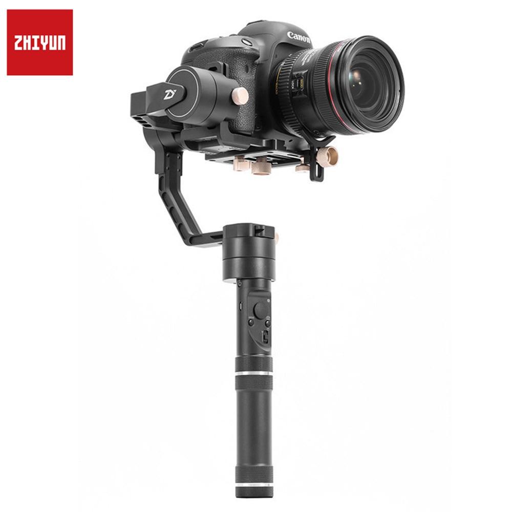 Zhiyun Crane Plus 3Axis Handheld Gimbal Stabilizer for Mirrorless DSLR Cameras Support 2.5KG POV Mode цены