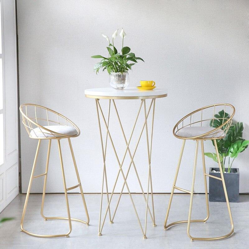 Aliexpresscom Metal Creative Nordic Bar Stool Bar Chair Fashion