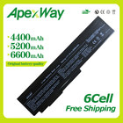 Apexway 10.8V laptop battery for ASUS A32-M50 A32-N61 A32-X64 A33-M50 G50 G51 M50 M60 N43 N61 X55 X57 X64 N53J Series