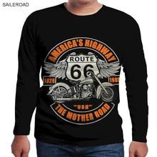 Spring Autumn Fashion Vespa Motorcycle 3D Print O-Neck Slim Fit Long Sleeve T Shirt Men Casual T-Shirt Crossfit Street Wear Tops