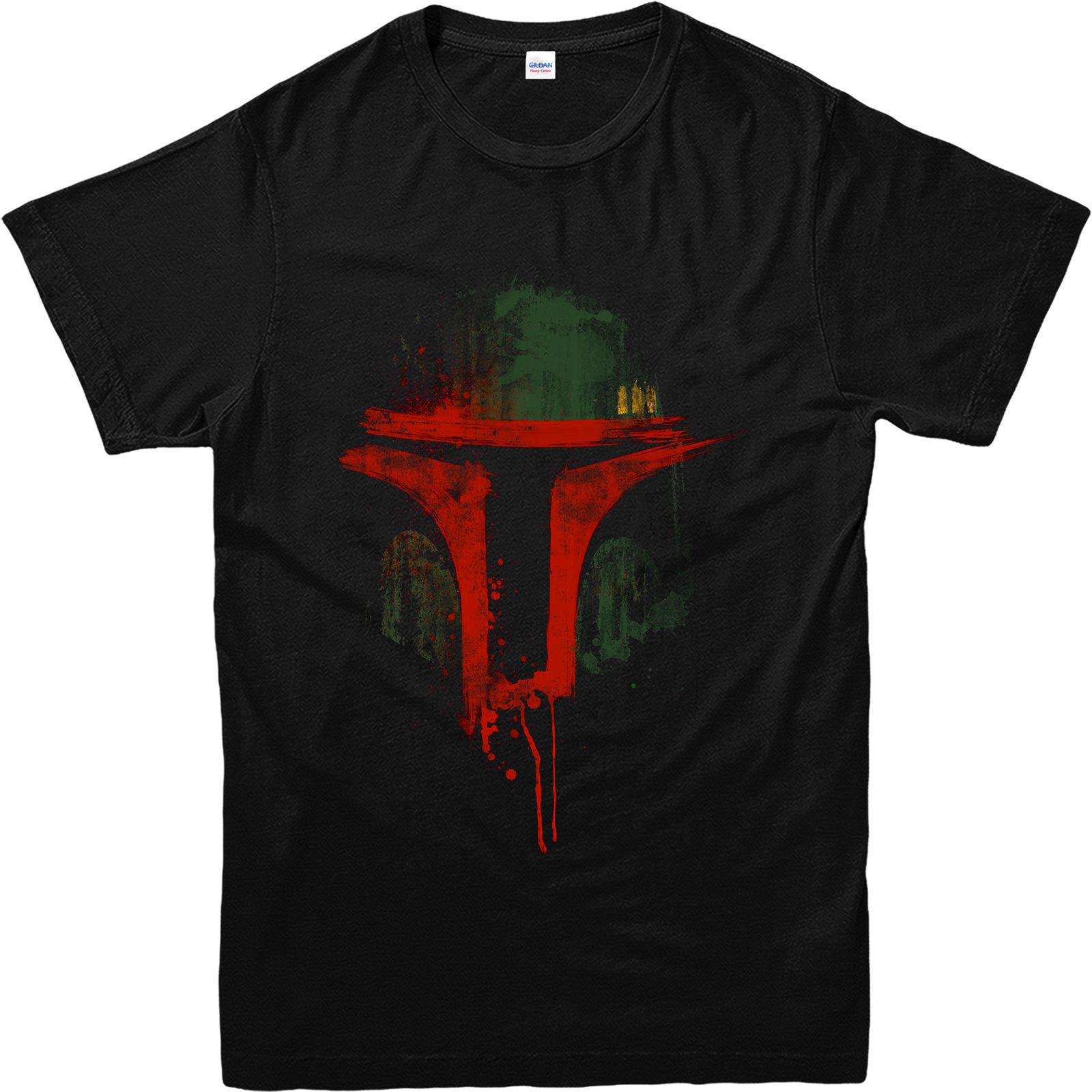 Star Wars T Shirt Boba Fett Face T Shirt Inspired Design Top BFFG Free shipping Harajuku Tops Fashion Classic Unique Cotton in T Shirts from Men 39 s Clothing
