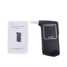Electrochemical Breath Alcohol Tester Exquisite Packaging Box Mouthpiece professional breathalyzer