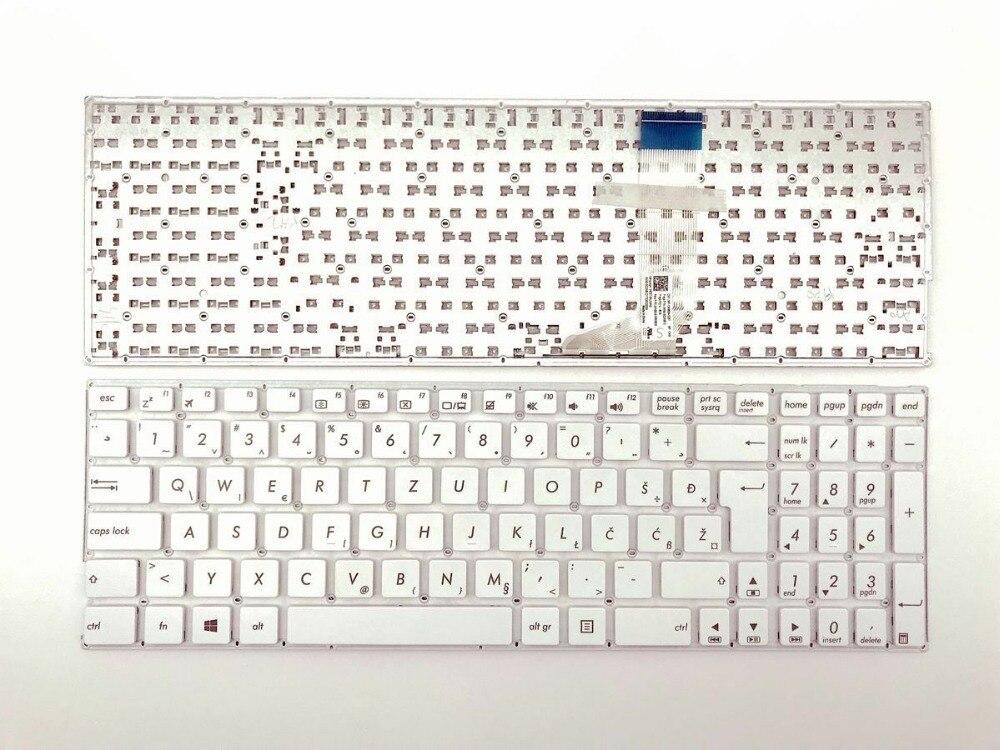 Bosnian Slovenian Croatian backlit keyboard for HP 755 G3//755 G4//850 G3//850 G4
