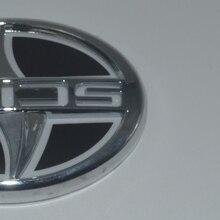 12.5×8.5 cm Car led rim light Car logo emblem for Scion red blue white colors Decorative front rear badge цена