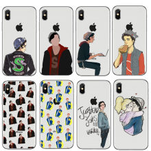 American TV Riverdale I'd Rather Be At Pop's Soft TPU Phone Cover Case For iPhone 4S 5 XS Max 5 6S 6Plus 7 8 8Plus XR fundas(China)