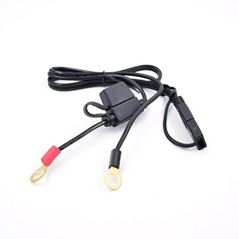 Charger Cable For Motorcycle Battery Terminal To SAE Quick Disconnect Cable Motorcycle Battery Output Connector Dropshipping