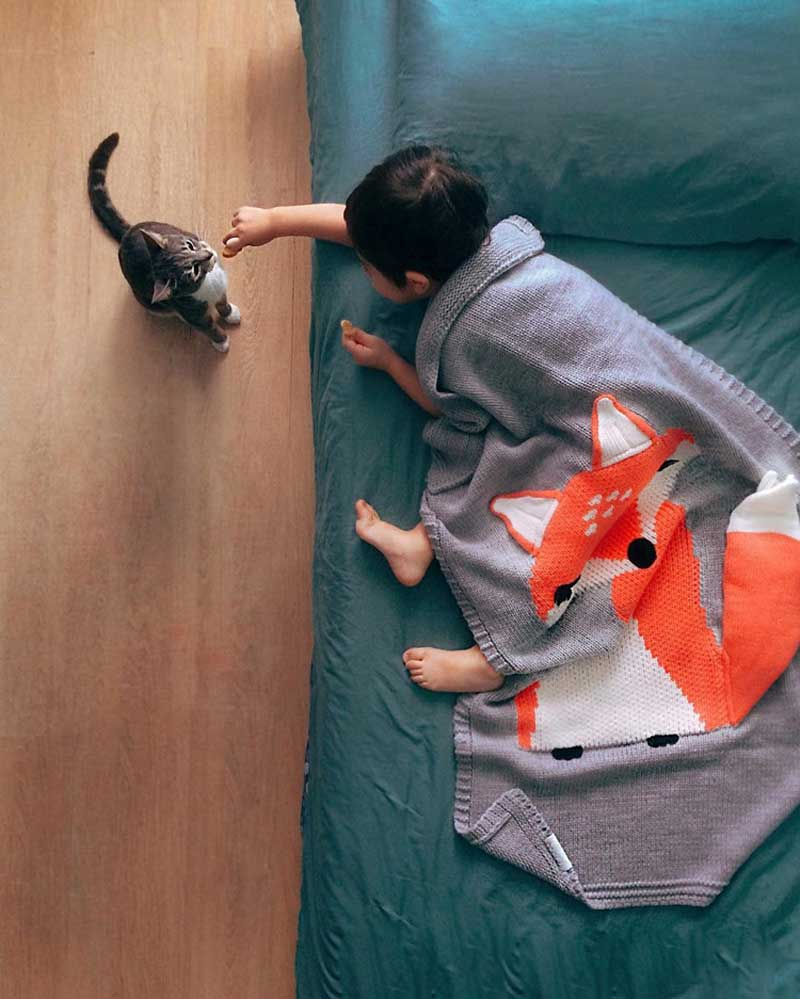 Knitting Blanket Baby (8)