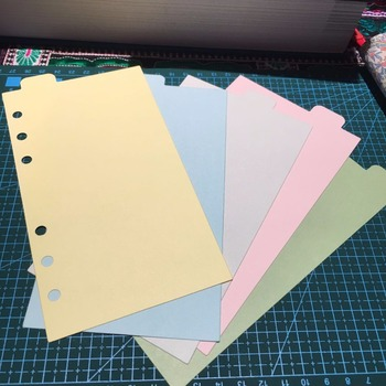 Business Office Fashion Spiral Journal Isolated Paper A5 A6 Pure Color Filler Papers 5 Sheets DIY Agenda Notebook Supplies a5 journal refills notebook filler paper narrow ruled 2017 planner to do list office supplies stationery 45 sheets