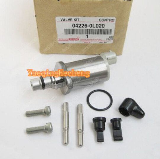 New Control Valve Kit 294200-0040 04226-0L020 For Toyota Hil new scv valve suction control valve 294200 0370 2942000370