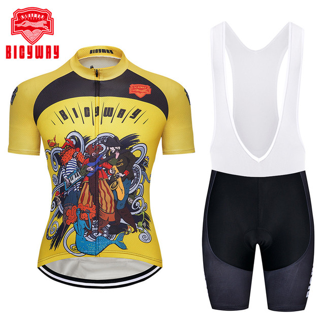 2018 cycling jersey set 3 Styles ropa ciclismo hombre men sport mtb bike  jerseys maillot ciclismo bicycle cycling clothing kits 8b5b21728
