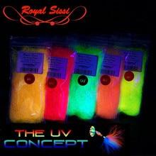"5 warna opsional sinar UV 5 ""panjang es sayap serat sintetis yang sangat panjang dengan UV hue fly fishing streamer baitfish mengikat bahan"
