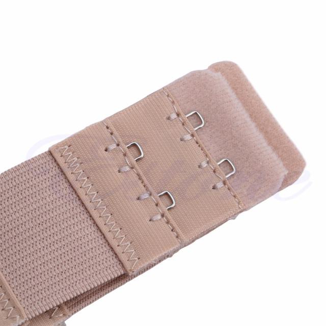 5Pcs Bra Extender 2 Hook Soft Ladies Bra Extension Strap Underwear Strapless HOT