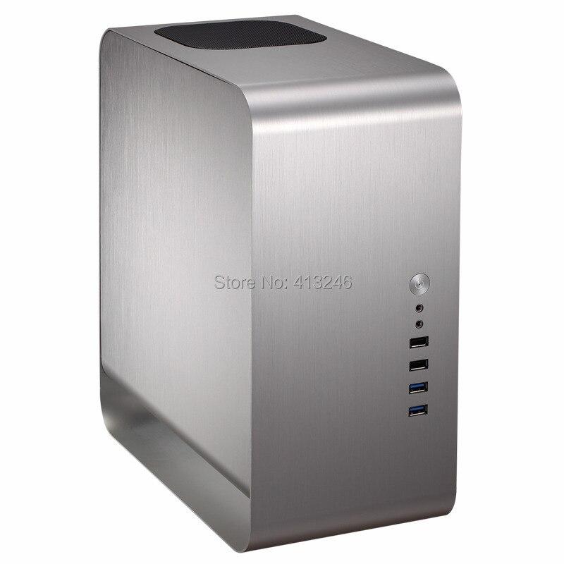 2015 데스크톱 itx 알루미늄 케이스 미니 ITX htpc - 컴퓨터 구성 요소