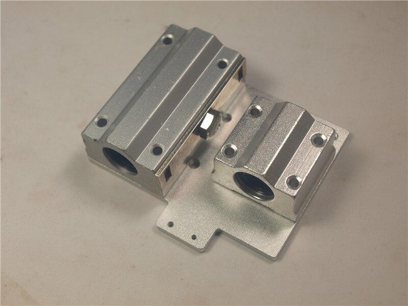 Reprap Prusa i3 3D printer parts X axis Metal exturder carriage aluminum alloy for wade/titan extruder