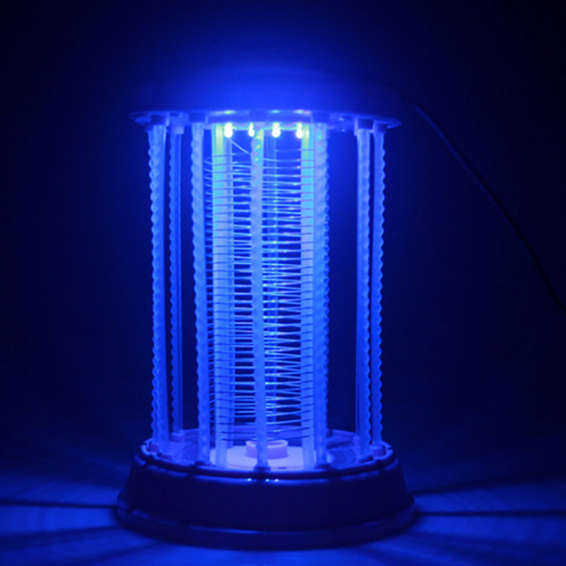 Iguardor Household Restaurant Electronic Shock Mosquito Killer Lamp LED Light Mute Anti-radiation Outdoor Garden Insect Killer
