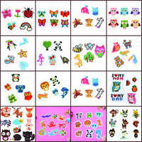5D Diamond Embroidery Cartoon Series DIY Mini Diamond Painting For Kids Crystal Round Diamond Sticker Rhinestones Mosaic Crafts