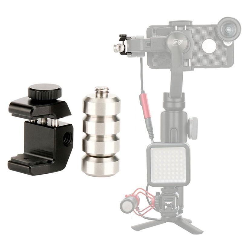 PT-4 extraíble contrapeso para equilibrar momento anamórfico lente cardán accesorios para zhiyun liso 4 DJI Osmo mobile 2