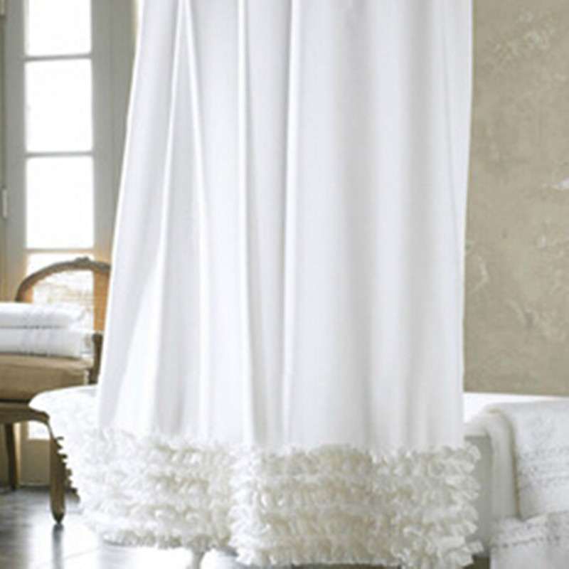 Online Buy Wholesale Ruffle Shower Curtain From China