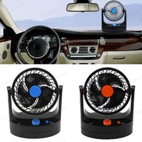 2015 HIGH QUALITY 12V Portable Vehicle Auto Car Fan HX 506 with a switch can speed 38 2A5039 free shipping